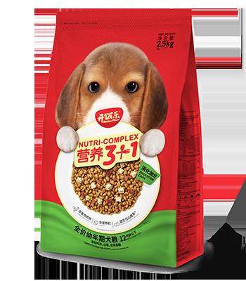 开饭乐营养3+1全价幼年期犬粮(消化加分)