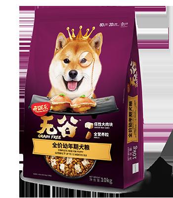 开饭乐无谷全价幼年期犬粮