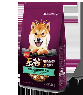开饭乐无谷全价小型犬成年期犬粮