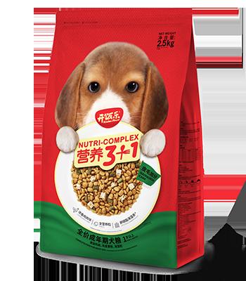 开饭乐营养3+1全价成年期犬粮(皮毛加分)