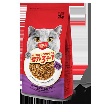 开饭乐营养3+1全价成年期猫粮(皮毛加分)