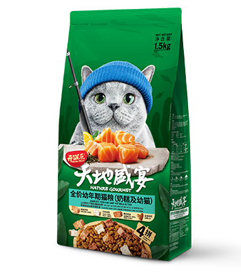 开饭乐天地盛宴全价幼年期猫粮(奶糕及幼猫)