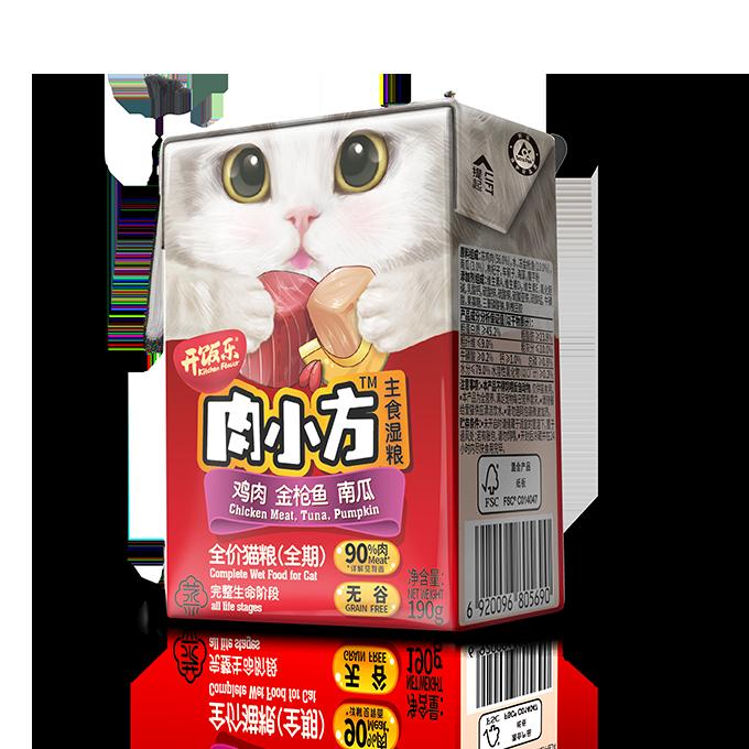 肉小方全价猫粮(全期)