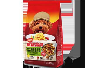 开饭乐环球美食那不勒斯芝士味<br/>全价幼年期犬粮