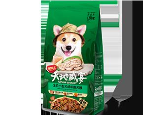 开饭乐天地盛宴全价<br/>小型犬成年期犬粮
