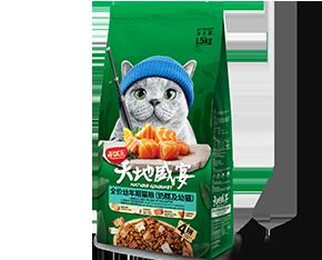 开饭乐天地盛宴全价<br/>幼年期猫粮(奶糕及幼猫)