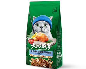 开饭乐天地盛宴全价<br/>成年期猫粮(毛球管理)