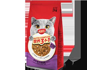 开饭乐营养3+1全价<br/>成年期猫粮