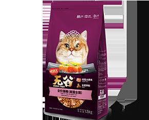 开饭乐无谷全价猫粮 <br/>(美猫全期)